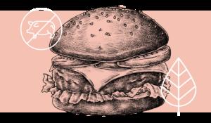 Falsch gebraten – Titel, vegan, vegetarisch