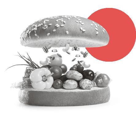 Das Fleisch der Zukunft – Burger mit Gemüse